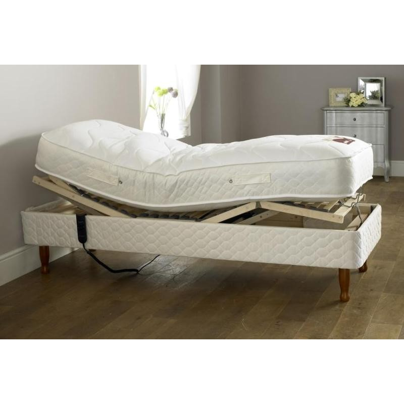 Adjustable Bed Mattress Pad : Electric adjustable bed single