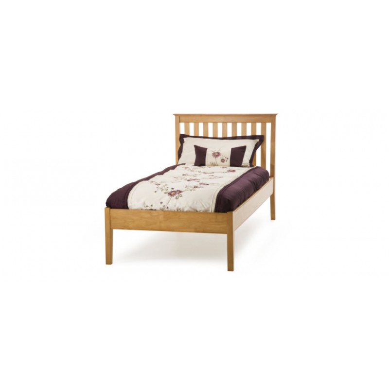Electric Beds Ni : Carmen low end bed cherry frame small double
