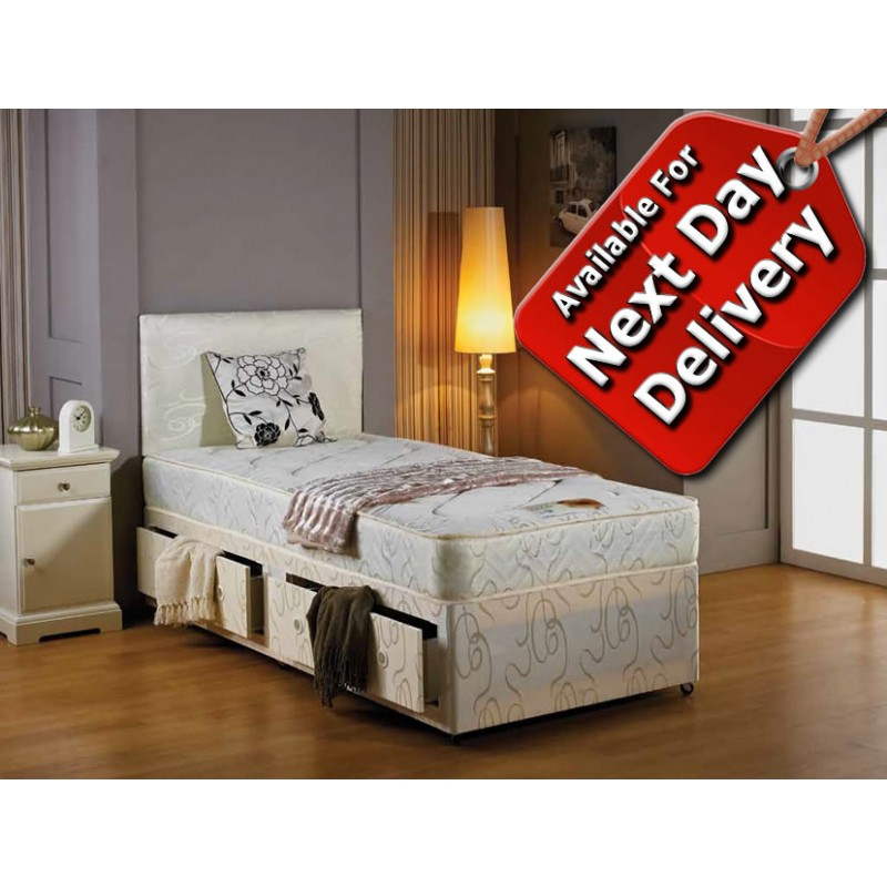 Mayfair divan bed small double 4 39 small double 4 for Small double divan bed and mattress