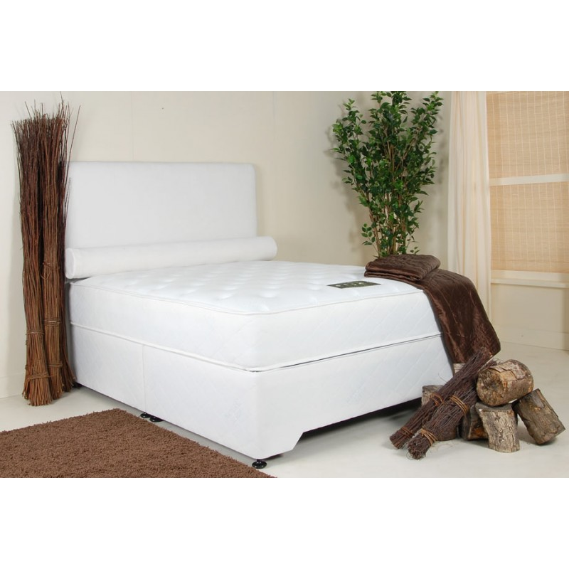 Natural sleep deep embrace divan double 4 39 6 double for 4 6 divan beds