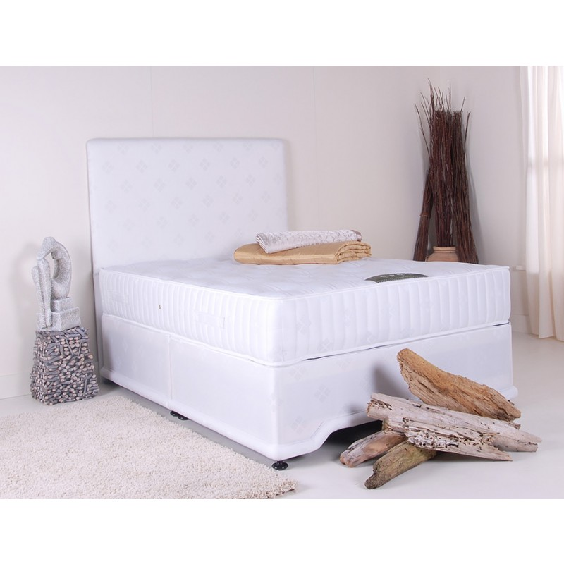 Natural sleep deep bliss divan bed double 4 39 6 for 4 6 divan beds