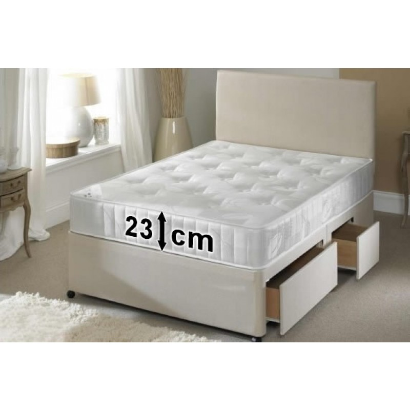 Frame master divan bed double 4 39 6 39 39 double 4 39 6 for 4 6 divan beds