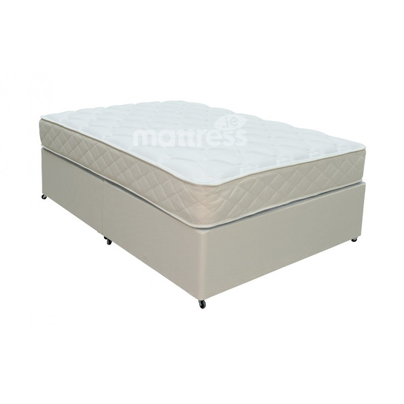 Health sense orthopaedic divan bed single 3 39 for Single divan bed no mattress