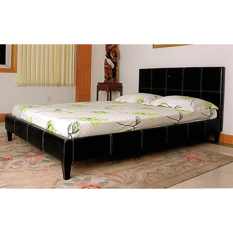 Cheap Pu Brown Leather Bed 5 Foot Dublin Ireland