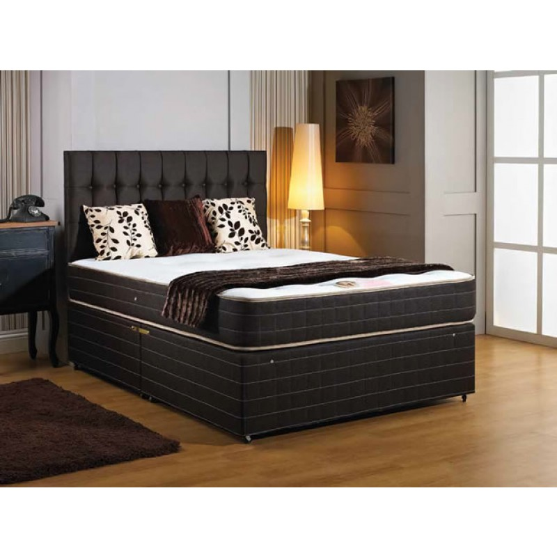 Luxury windsor divan bed 5 39 king 5 39 divan beds for Divan king bed