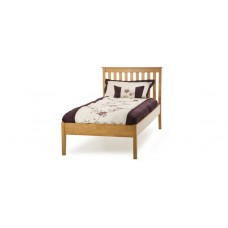 Carmen Low End Bed Cherry Frame - Double (4'6'')