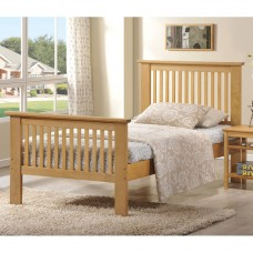 Value Ashling Oak Bedstead - Single (3')