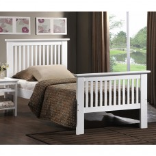 Value Ashling White Bedstead - King (5')