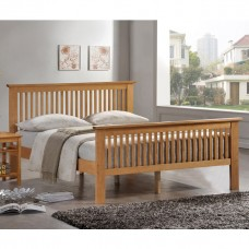 "Value Ashling Oak Bedstead - Double (4'6"")"