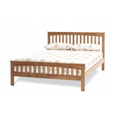 Amelia Honey Oak Bed - Super Kingsize (6')