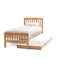 Amelia Honey Oak Bed - Guest Bed