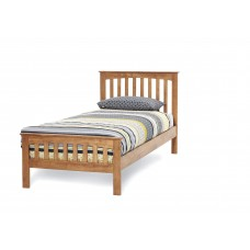 Amelia Honey Oak Bed - Single (3')