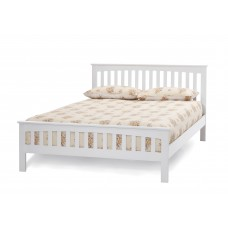 Amelia Opal White Bed - Small Double (4')