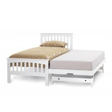 Amelia Opal White Bed - Guest Bed