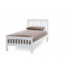Amelia Opal White Bed - Single (3')