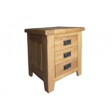 3 Drawer Bedside Cabinet - The Barcelona Collection