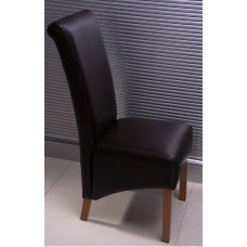 Lucy Collection - Black Leather Chair