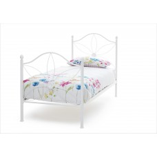 Daisy Bed Frame White or Pink - Single (3')
