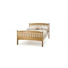 Eleanor High End Honey Oak Bed - Super Kingsize (6')