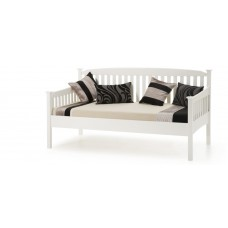 Eleanor High End Opal White Bed - Day Bed (3')