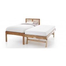 Esther Honey Oak Bed - Guest Bed (3')