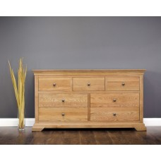 Jersey Oak Collection - 7 DR Wide Chest