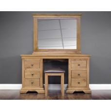 Jersey Oak Collection - 6 DR Dressing Table