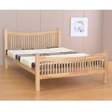 "Jordan Natural Bed Frame - Double (4'6"")"