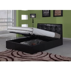 Harmony Modena Leather Storage Bed (5')