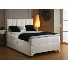 Luxury Oxford Pillow Top Divan Bed - (4'6)