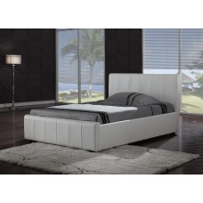 Harmony Pisa Leather Bed (4'6)