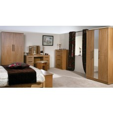 Mya Oak 3' Bed