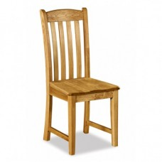 Salisbury Dining Chair with Wooden Seat