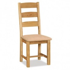 Salisbury Ladder Chair with Fabric Seat
