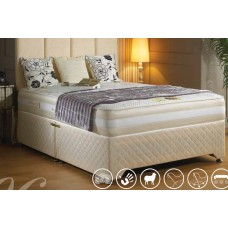 Luxury Sandringham Memory Pocket Divan Bed - (4'6)