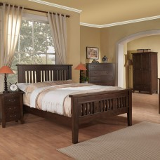 "Value Boston Bedstead - Double (4'6"")"