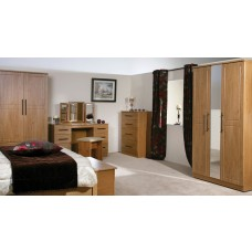 Mya Oak Bedside Door Locker