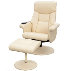 Supra Swivel Recliner Chair With Footstool