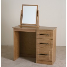 Mya Oak Bedroom Vanity Unit