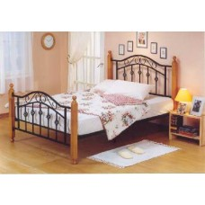 Virginia Black Metal Bed Frame - King (5')