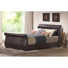 Harmony Rome Winchester Leather Bed (4'6)