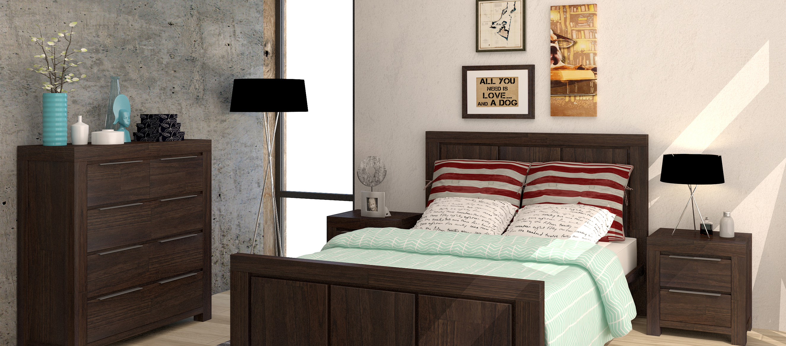 Cabanas Range Bedroom furniture