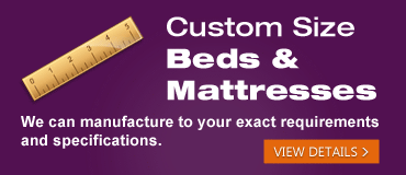 Visit our Custom Size Beds Page
